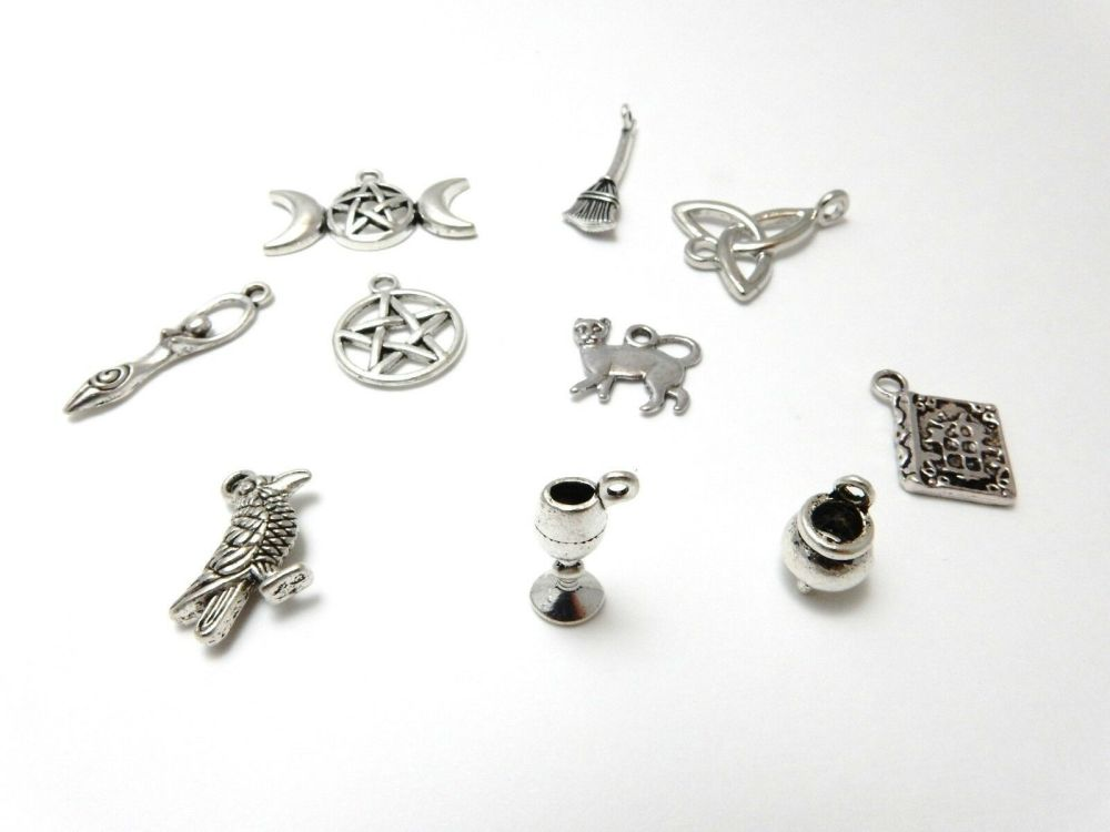 Wiccan Mix charms