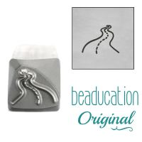 1013 Curvy, Winding Road Beaducation Original Design Stamp