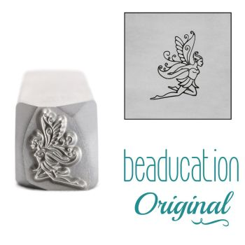 DSS1026 Fairy Flying Right Beaducation Original Design Stamp