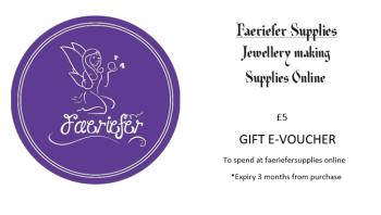 Gift voucher £5 E voucher
