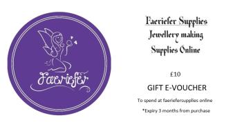 Gift voucher £10 E voucher