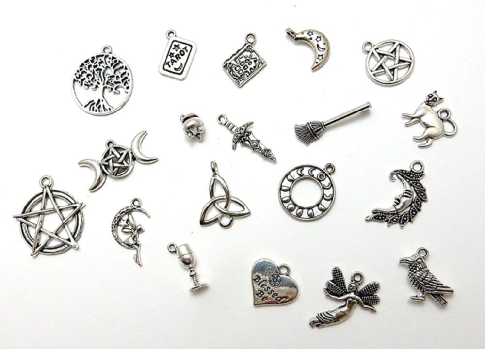Pagan Mix charms