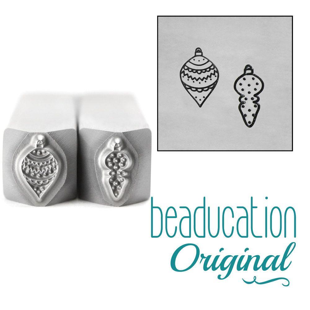 999 Pointy Ornament Set  Beaducation Original Design Stamp