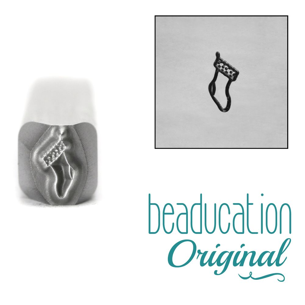 1008 Stocking Metal Design Stamp 5 mm - Beaducation Original