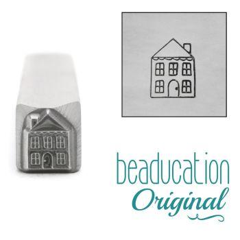 218 House Beaducation Original Design Stamp