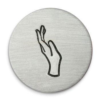 Left Hand Ultra Detail Stamp - Impressart - 12mm