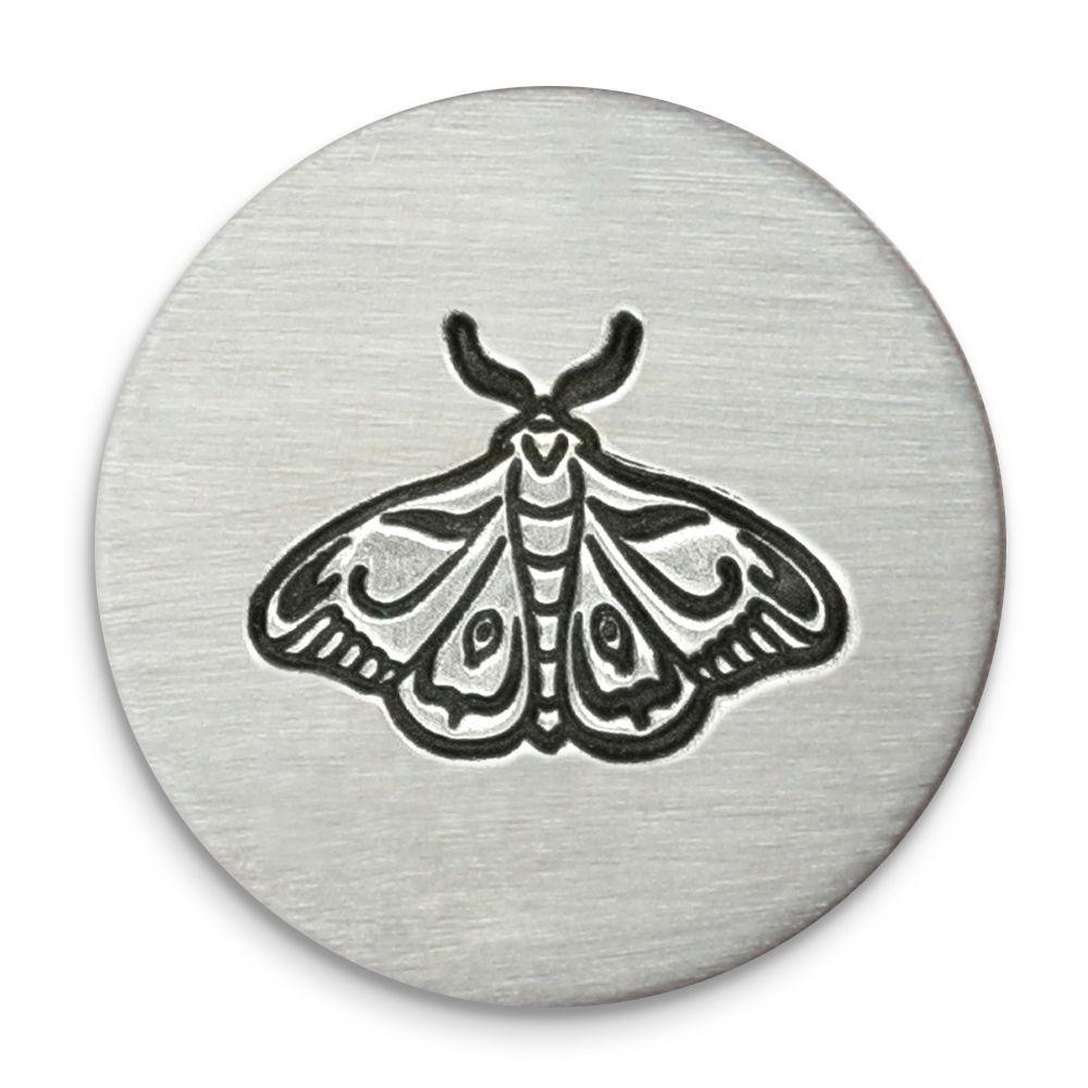 Moth Ultra Detail Stamp - Impressart - 12mm
