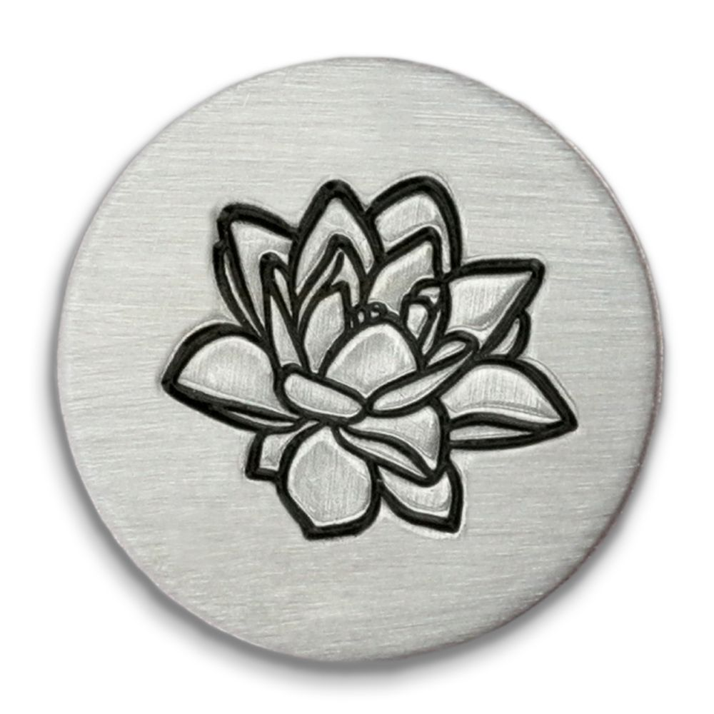 Lotus Ultra Detail Stamp - Impressart - 12mm