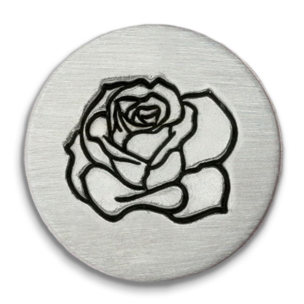 Rose Ultra Detail Stamp - Impressart - 12mm