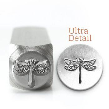 Dragonfly Ultra Detail Stamp - Impressart - 12mm