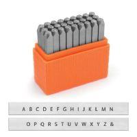 ImpressArt Basic Metal Stamp Set, Alphabet, Sans Serif Uppercase, 1.5 mm