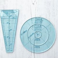'Poppsy Doodle Dandy' Quilt 4 Piece Acrylic Ruler & Template Set