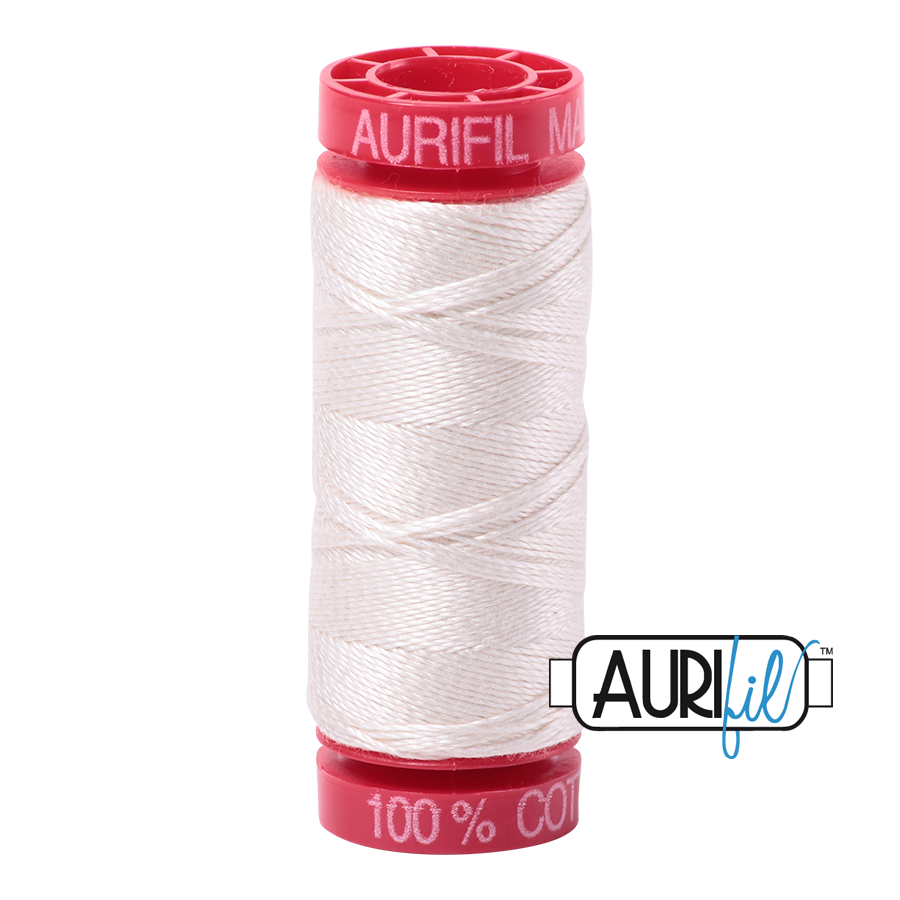 Aurifil ~ 12wt Thread ~ 2311 ~ Muslin