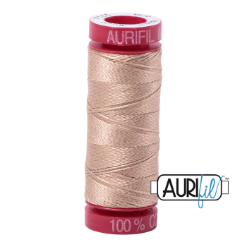 Aurifil ~ 12wt Thread ~ 2314 ~ Beige