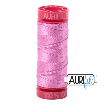 Aurifil ~ 12wt Thread ~ 2479 ~ Medium Orchid Pink