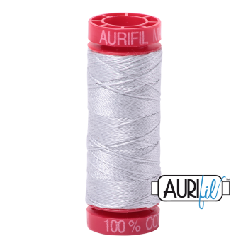 Aurifil ~ 12wt Thread ~ 2600 ~ Dove Grey
