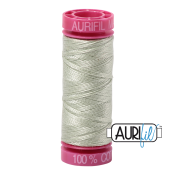 Aurifil ~ 12wt Thread ~ 2908 ~ Spearmint