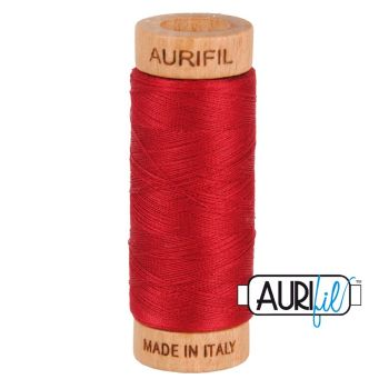 Aurifil ~ 80 wt Cotton ~ 2260 ~ Red Wine