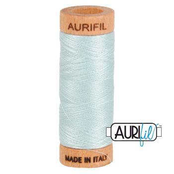 Aurifil ~ 80 wt Cotton ~ 5007 ~ Light Grey / Blue