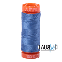 Aurifil ~ 50 wt Cotton ~ 1128 ~ Light Blue Violet Small Spool