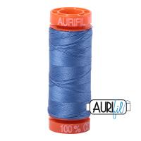 Aurifil ~ 50 wt Cotton ~ 1128 ~ Light Blue Violet Small Spool