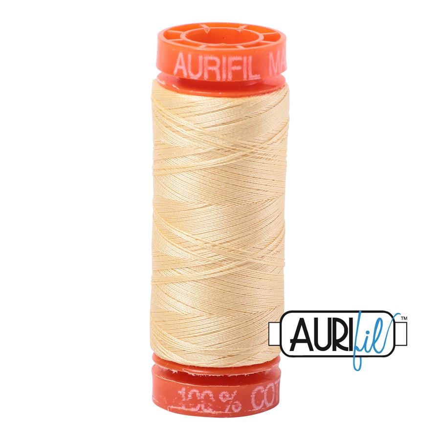 Aurifil ~ 50 wt Cotton ~ 2105 ~ Champagne Small Spool
