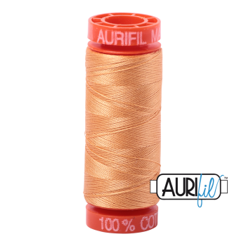 Aurifil ~ 50 wt Cotton ~ 2214 ~ Golden Honey Small Spool