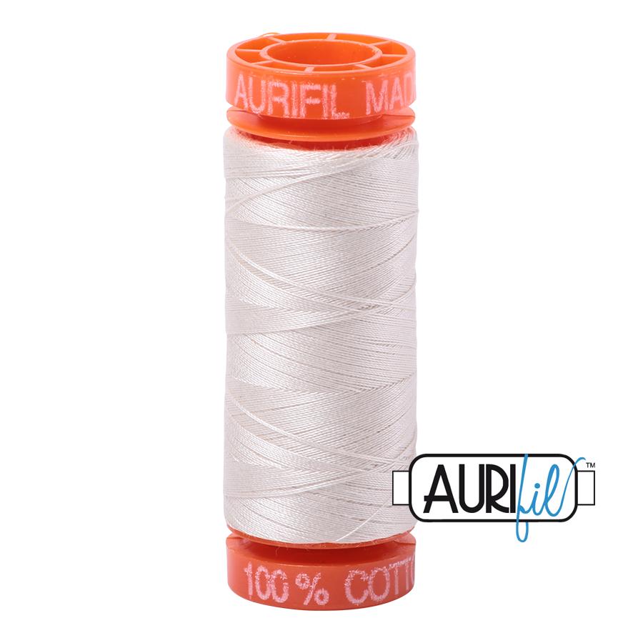 Aurifil ~ 50 wt Cotton ~ 2311 ~ Muslin Small Spool