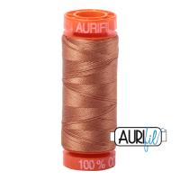 Aurifil ~ 50 wt Cotton ~ 2330 ~ Light Chestnut Small Spool