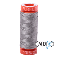 Aurifil ~ 50 wt Cotton ~ 2620 ~ Stainless Steel Small Spool