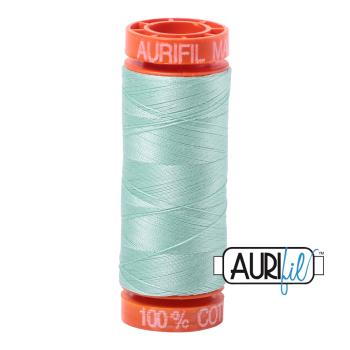Aurifil ~ 50 wt Cotton ~ 2830 ~ Mint Small Spool