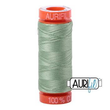 Aurifil ~ 50 wt Cotton ~ 2840 ~ Loden Green Small Spool