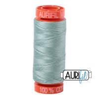 Aurifil ~ 50 wt Cotton ~ 2845 ~ Light Juniper Small Spool