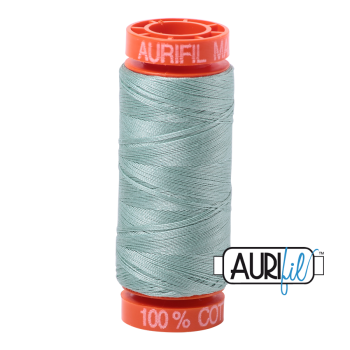 Aurifil ~ 50 wt Cotton ~ 2845 ~ Light Juniper Small Spool