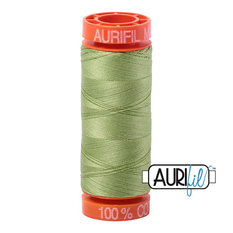 Aurifil ~ 50 wt Cotton ~ 2882 ~ Light Fern Small Spool