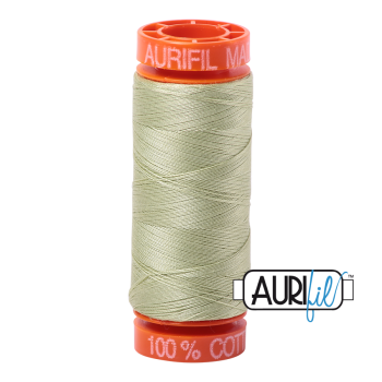 Aurifil ~ 50 wt Cotton ~ 2886 ~ Light Avocado Small Spool