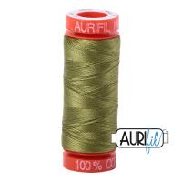 Aurifil ~ 50 wt Cotton ~ 5016 ~ Olive Green Small Spool