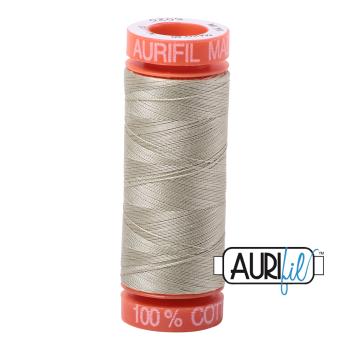 Aurifil ~ 50 wt Cotton ~ 5020 ~ Light Military Green Small Spool