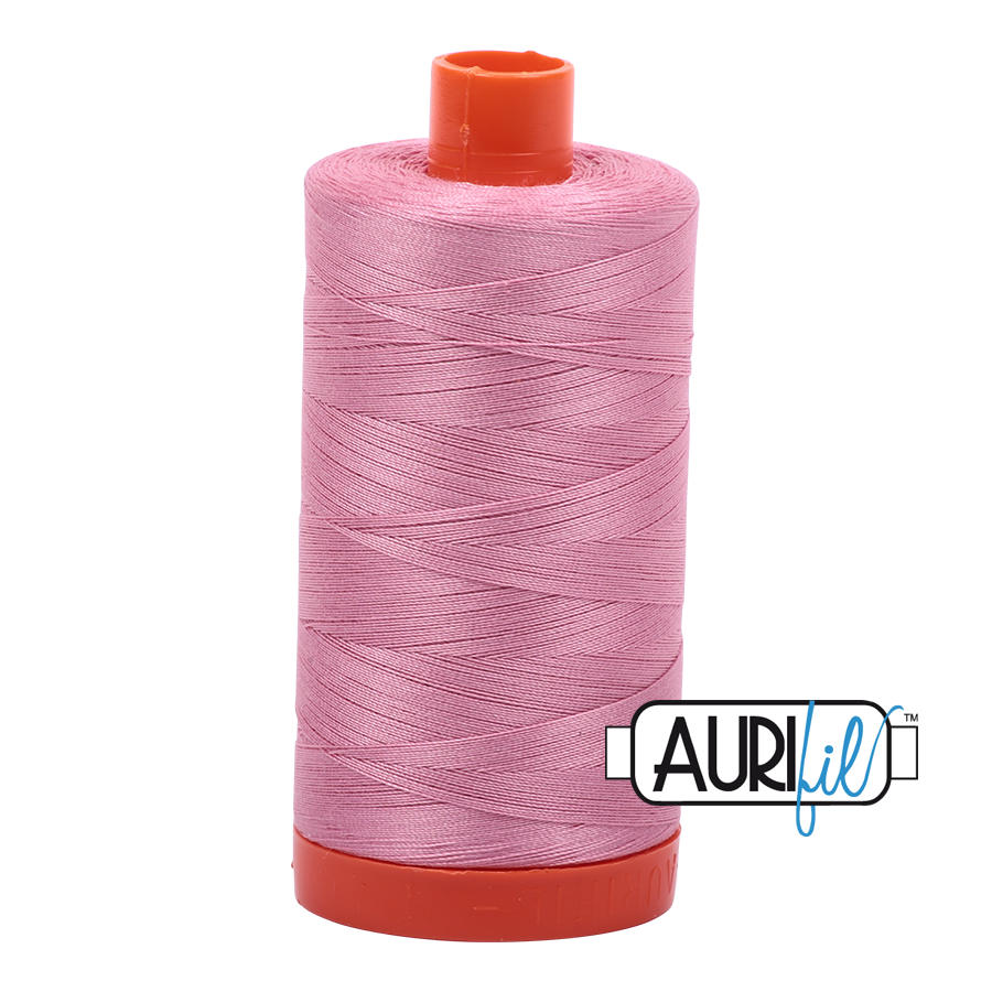 Aurifil ~ 50 wt Cotton ~ 2430 ~ Antique Rose Large Spool