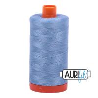 Aurifil ~ 50 wt Cotton ~ 2720 ~ Light Delft Blue Large Spool
