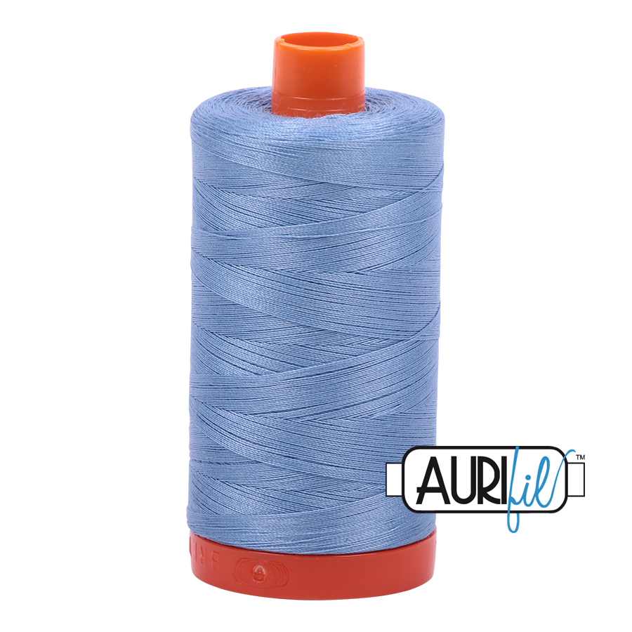 Aurifil ~ 50 wt Cotton ~ 2720 ~ Light Delft Blue Large Spool