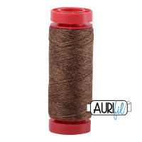 Aurifil ~ 12 wt Lana Wool ~ 8087 ~ Heathered Golden Brown