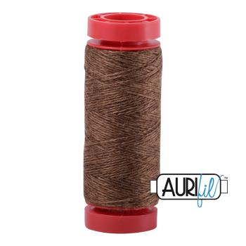 Aurifil ~ 12 wt Lana Wool ~ 8087 ~ Heathered Golden Brown