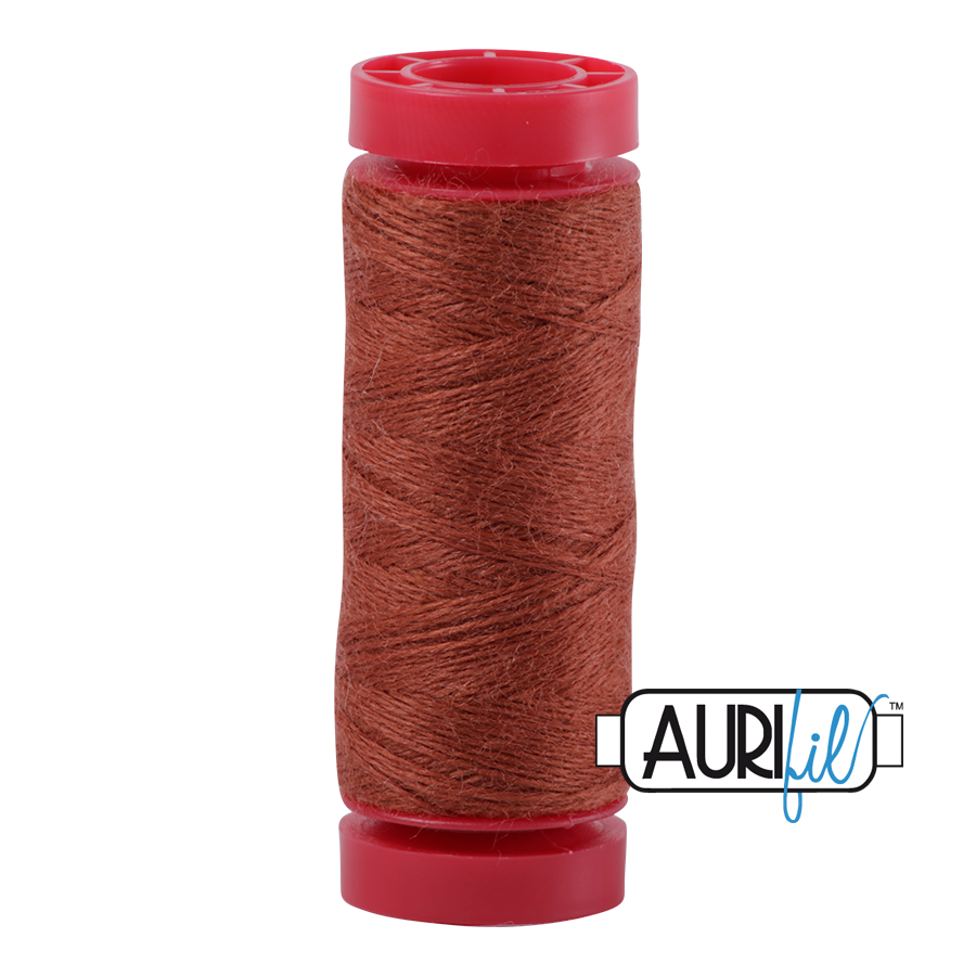 Aurifil ~ 12 wt Lana Wool ~ 8334 ~ Warm Brown