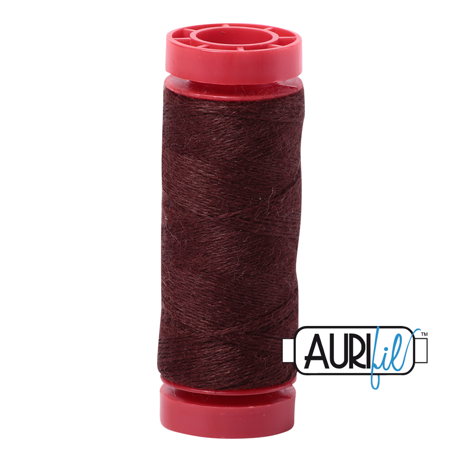 Aurifil ~ 12 wt Lana Wool ~ 8360 ~ Brown