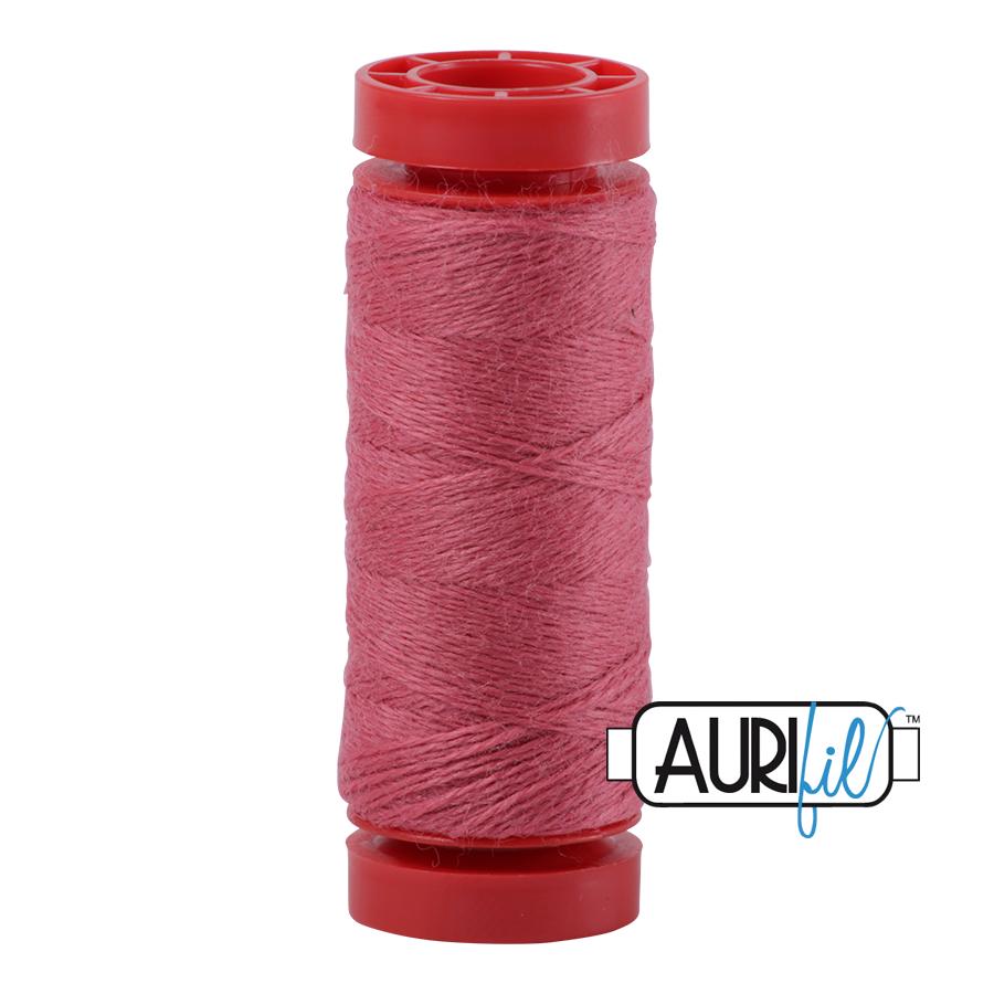 Aurifil ~ 12 wt Lana Wool ~ 8431 ~ Rosy Melon