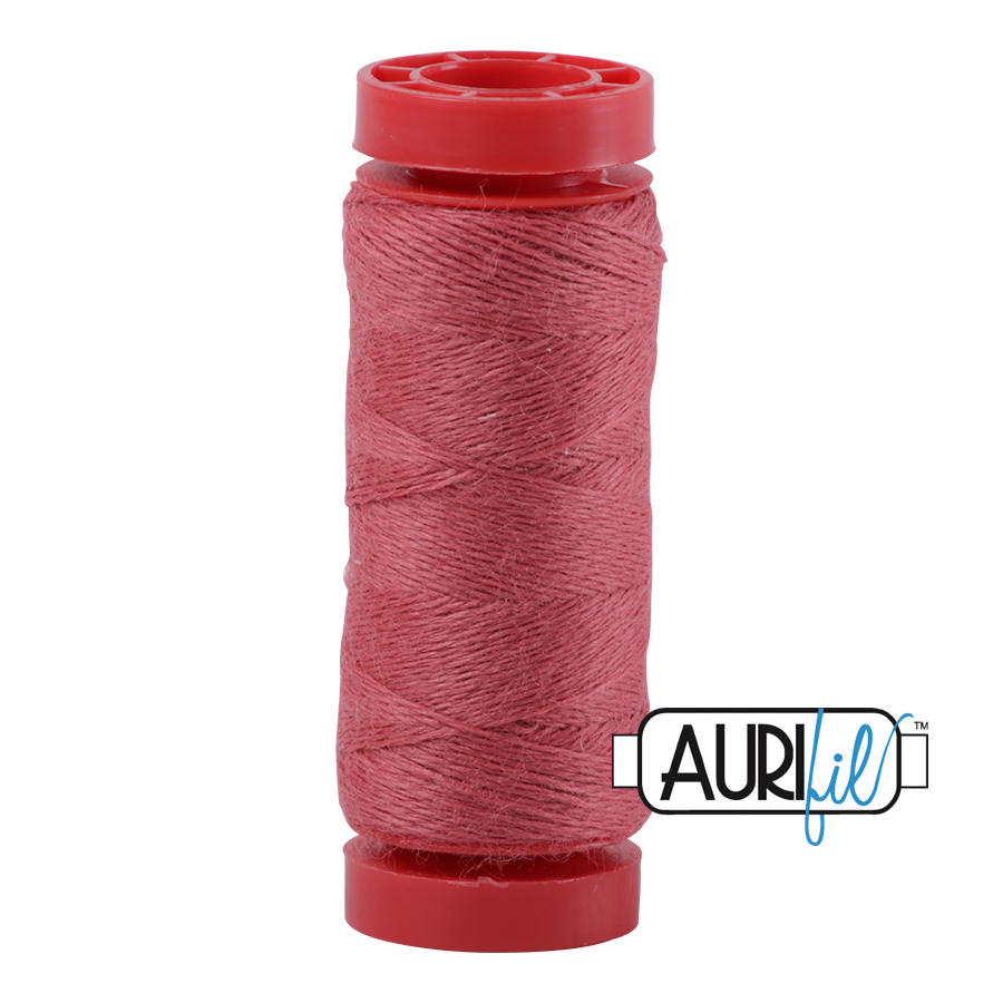 Aurifil ~ 12 wt Lana Wool ~ 8433 ~ Melon Berry