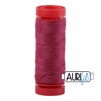 Aurifil ~ 12 wt Lana Wool ~ 8442 ~ Crushed Berries