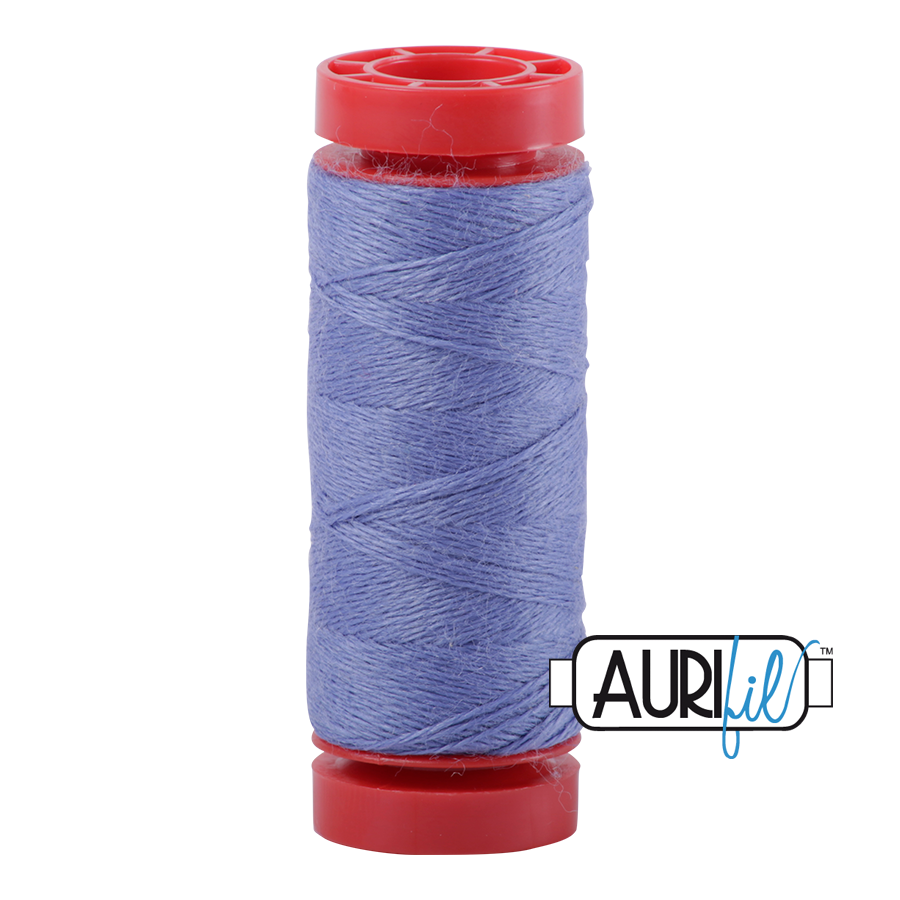 Aurifil ~ 12 wt Lana Wool ~ 8524 ~ Periwinkle Blue