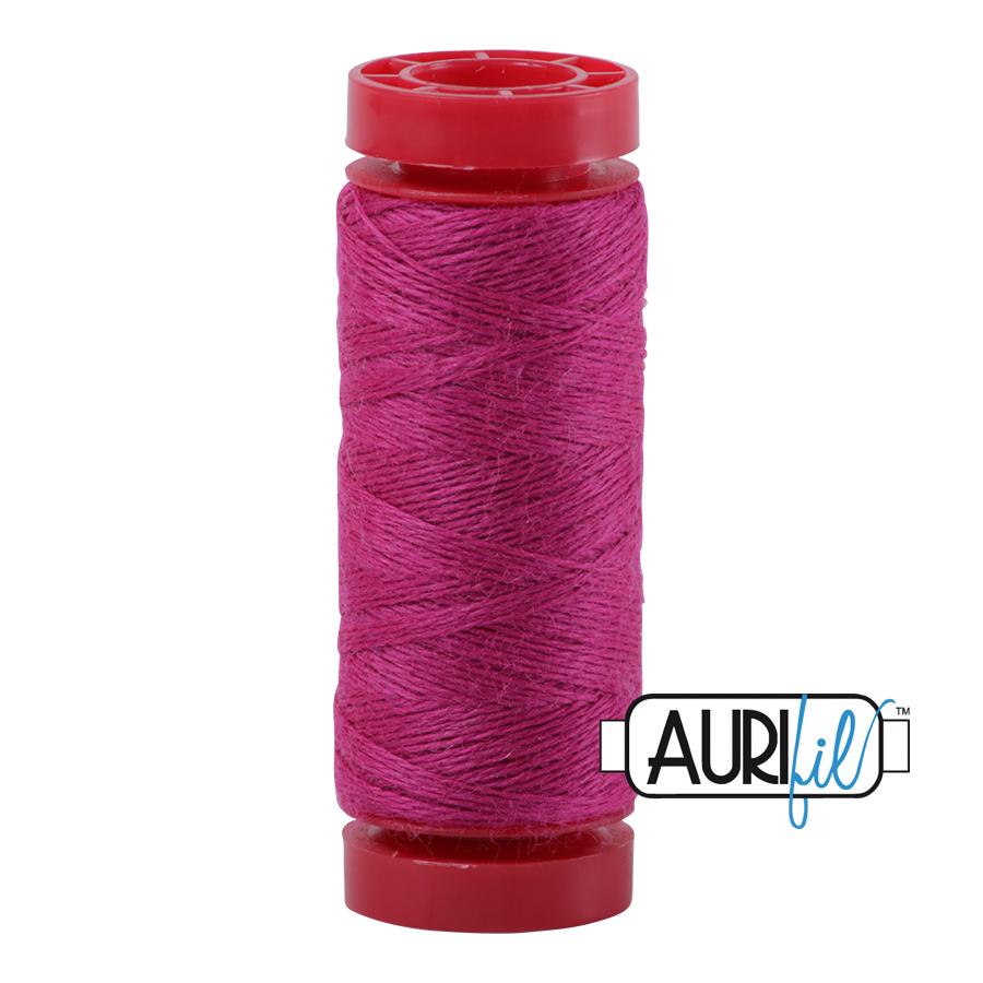 Aurifil ~ 12 wt Lana Wool ~ 8530 ~ Fuchsia Pink